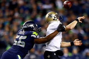 Drew Brees and the Saints didn't have their best performance the last time they faced Seattle.