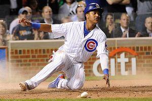 Chicago Cubs shortstop Starlin Castro
