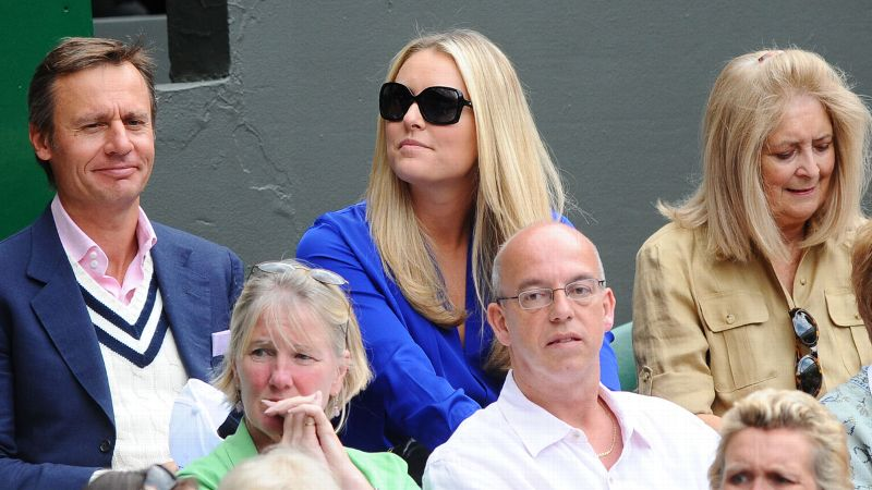 A noted tennis fan, Vonn has been on hand for a variety of big-time tennis events over the years, including Wimbledon in 2011. (Photo: DPPI/Icon SMI)