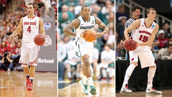 Aaron Craft, Keith Appling, Sam Dekker