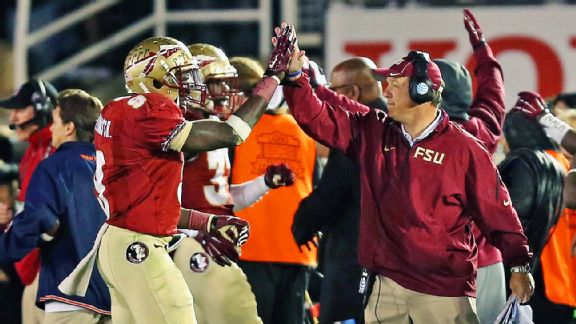 Karlos Williams and Jimbo Fisher