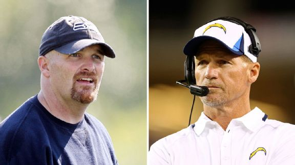 Dan Quinn and Ken Whisenhunt