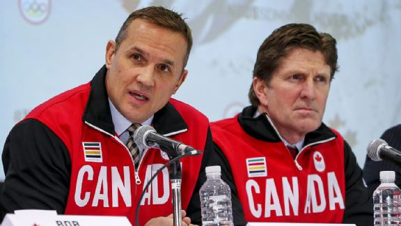 Steve Yzerman and Mike Babcock
