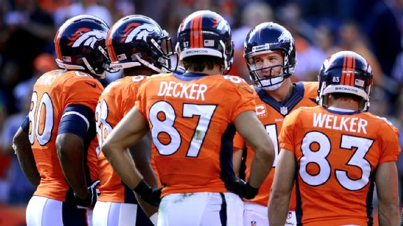 Broncos share a lot of wealth on offense