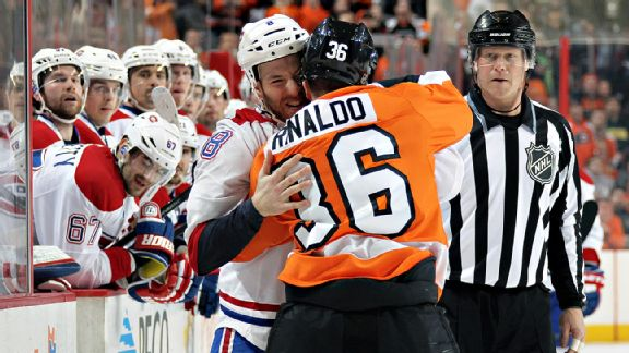 Flyers/Canadiens