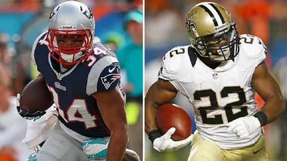 Shane Vereen, Mark Ingram