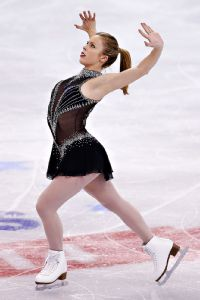 Sitting in fourth place after Thursday's short program, Ashley Wagner will have to fight for a podium spot in Saturday's free skate.