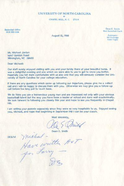 Jordan Letter