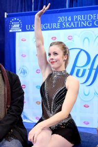 Ashley Wagner is vying for one of three spots on the U.S. Olympic women's figure skating team.