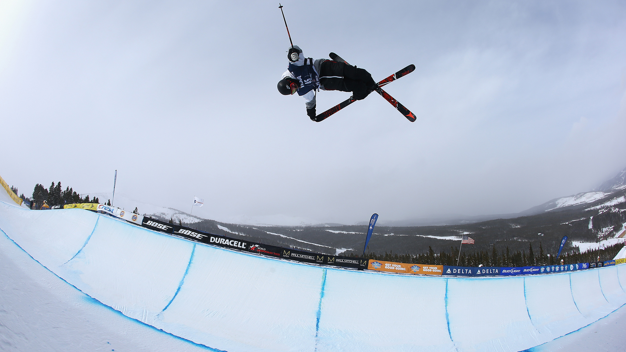 Double threat Gus Kenworthy had to let his qualification finish stand for his final placement when ski slopestyle was canceled on Friday, but was able to ride in Sunday's pipe finals.