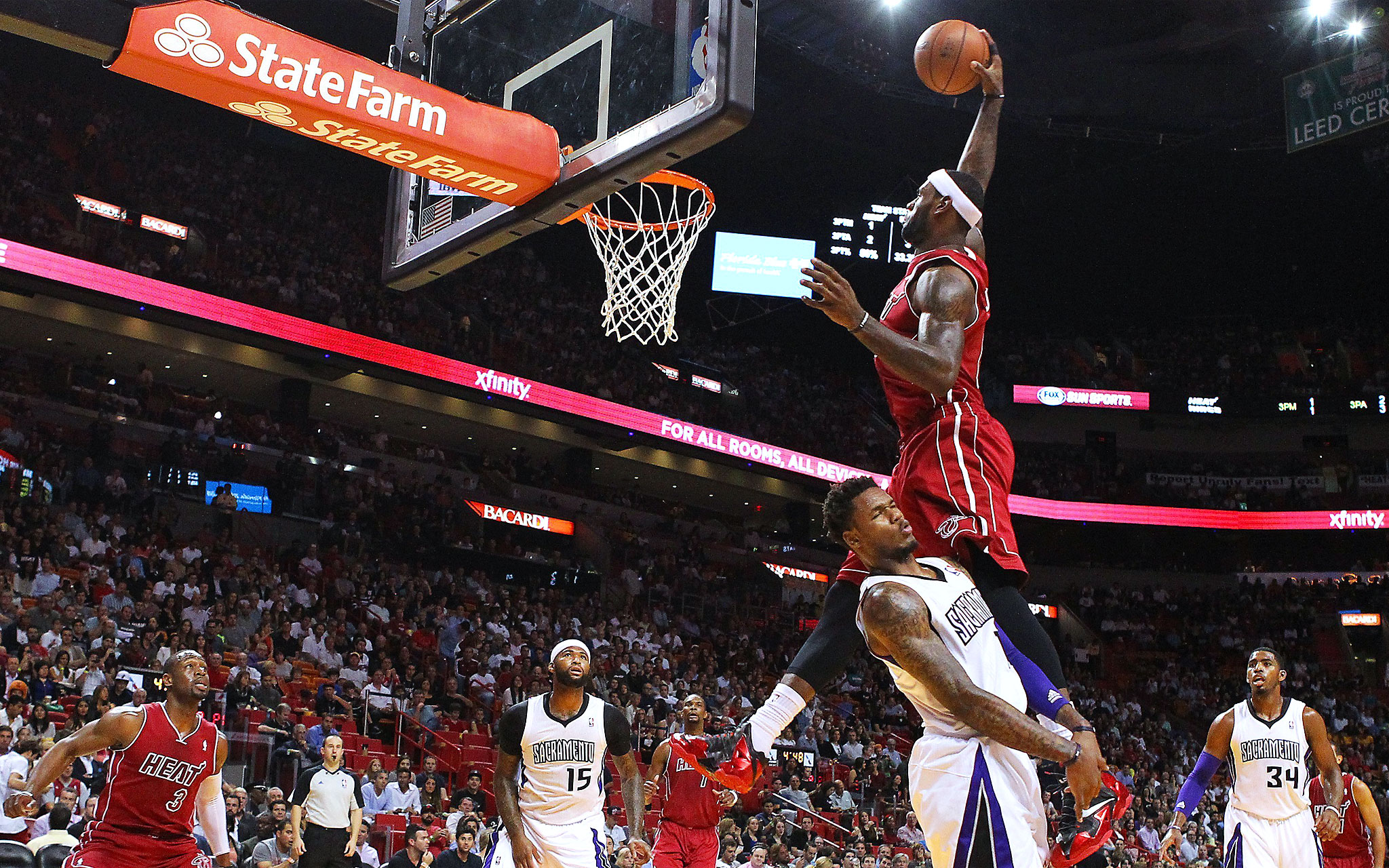 33f8755d43cb LeBron James - December s Best Dunks - ESPN