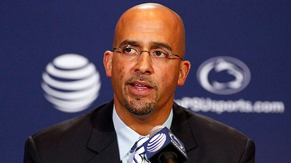 Penn State coach James Franklin