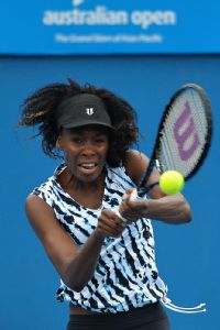 For the third time in her past seven Grand Slam events, Venus Williams lost in the first round.