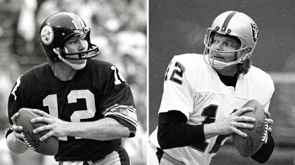 Terry Bradshaw and Ken Stabler