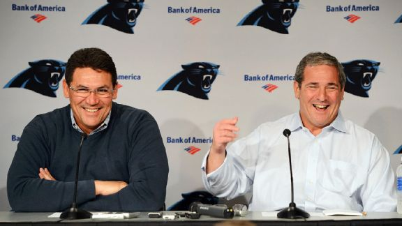 Ron Rivera and Dave Gettleman