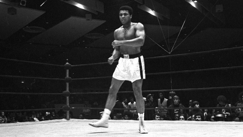 Even at 72, Muhammad Ali remains one of the most recognizable sports figures in the world.