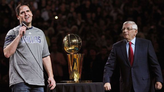 Mark Cuban, David Stern