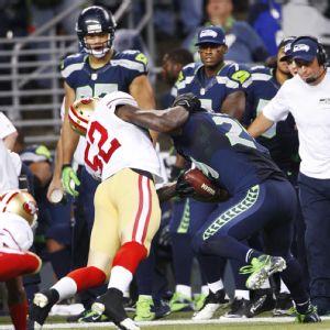 Patrick Willis and Marshawn Lynch