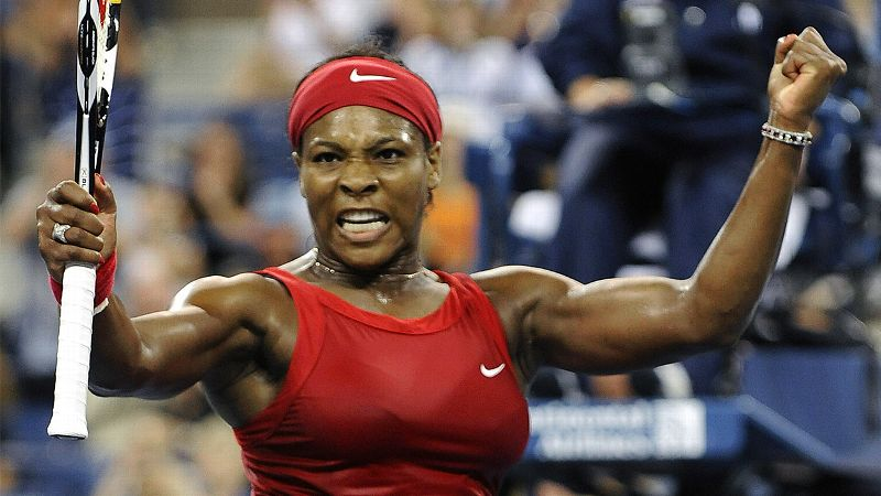 Other than her legendary serve, opponents often cite ferocity as Serena Williams' biggest weapon.