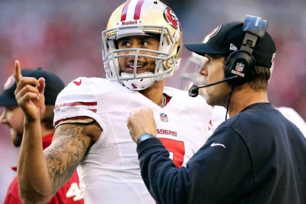 Colin Kaepernick, John Harbaugh
