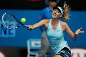 Maria Sharapova struggled to close out again Saturday against Alize Cornet.
