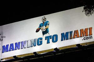 Manning to Miami billboard