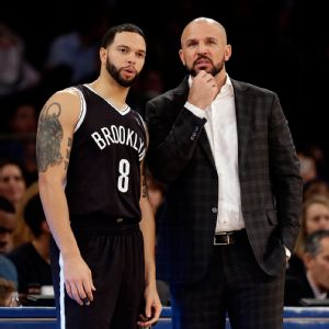 Jason Kidd and Deron Williams