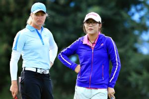 Lydia Ko knocked on the door at the Evian Championship but finished runner-up to Suzann Pettersen.