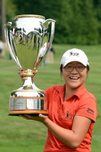 As a 15-year-old in 2012, Lydia Ko won the Canadian Open and became the youngest winner of an LPGA event.