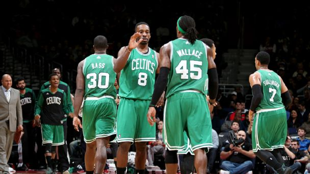 Jeff Green and Gerald Wallace