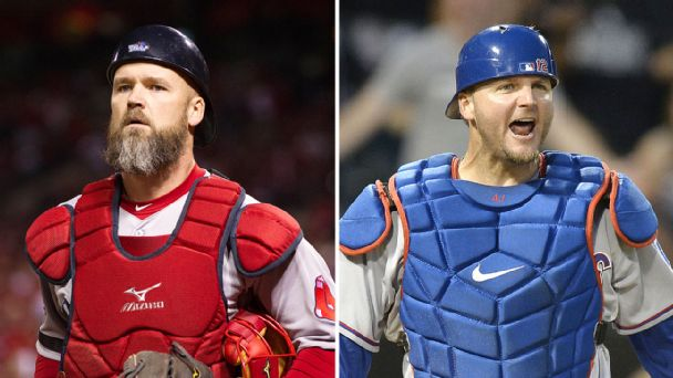 David Ross and A.J. Pierzynski