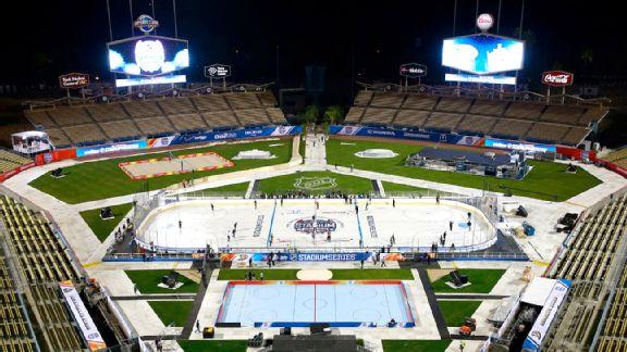 NHL Stadium Series at Dodger Stadium