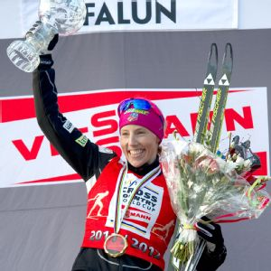 Last year, Kikkan Randall finished first in the World Cup sprint standings and won the United States' first team sprint gold with Jessica Diggins at worlds.