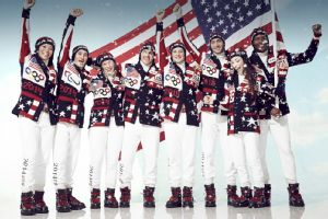 The U.S. Olympic team unveiled its new Ralph Lauren uniforms for the Opening Ceremony.