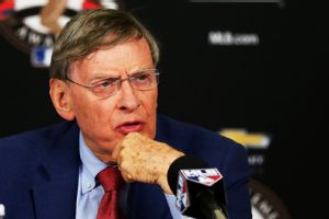 Bud Selig is calling it quits after about a thousand years as baseball commissioner.