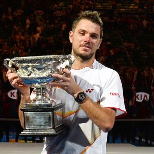 History said Stanislas Wawrinka had no shot, but history isn't always the best measure.