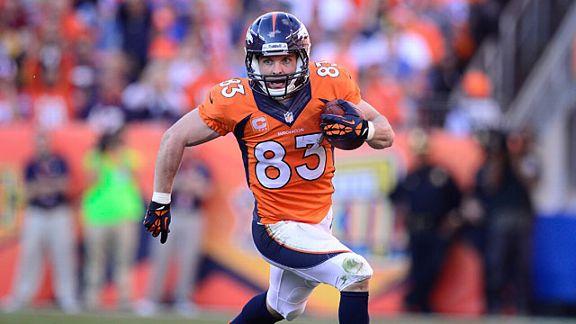 Denver Broncos wide receiver Wes Welker