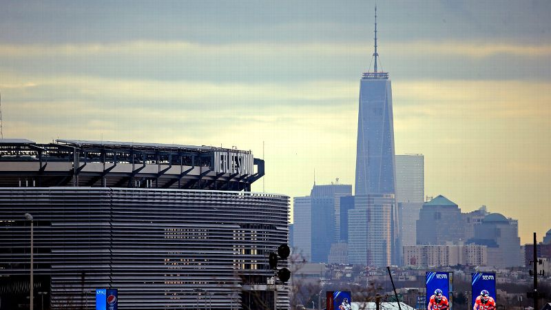 MetLife Stadium skyline