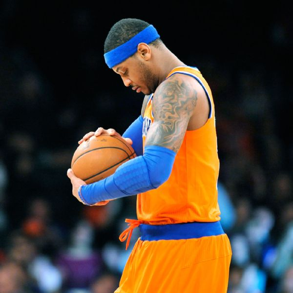 Carmelo anthony haircut
