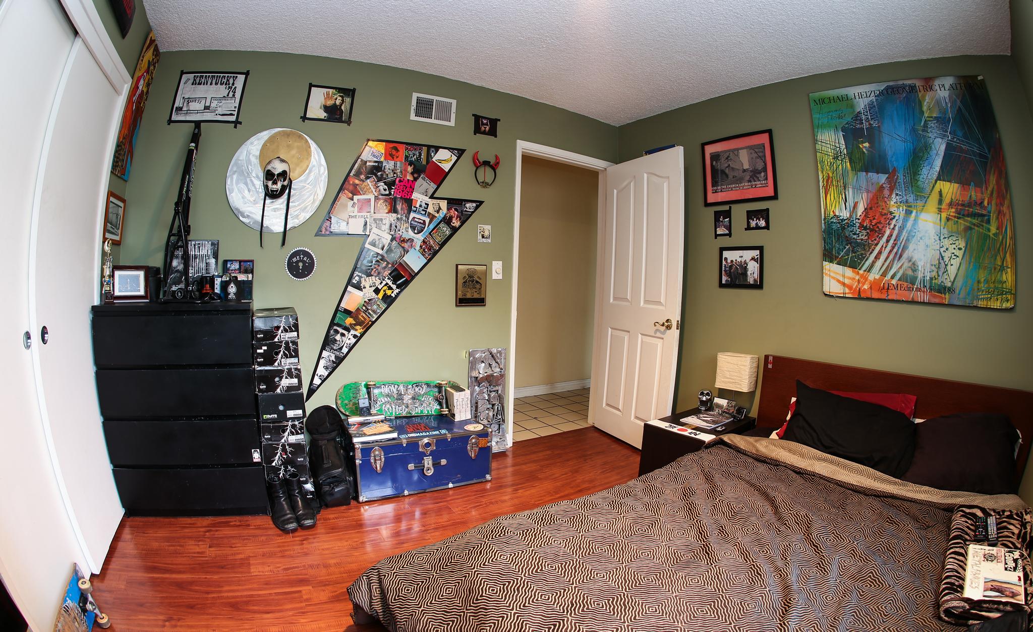 Levan's bedroom