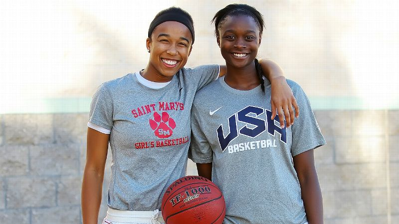 Mikayla Cowling and Gabby Green are both current teammates at St. Mary's (Berkeley) and future teammates at California.