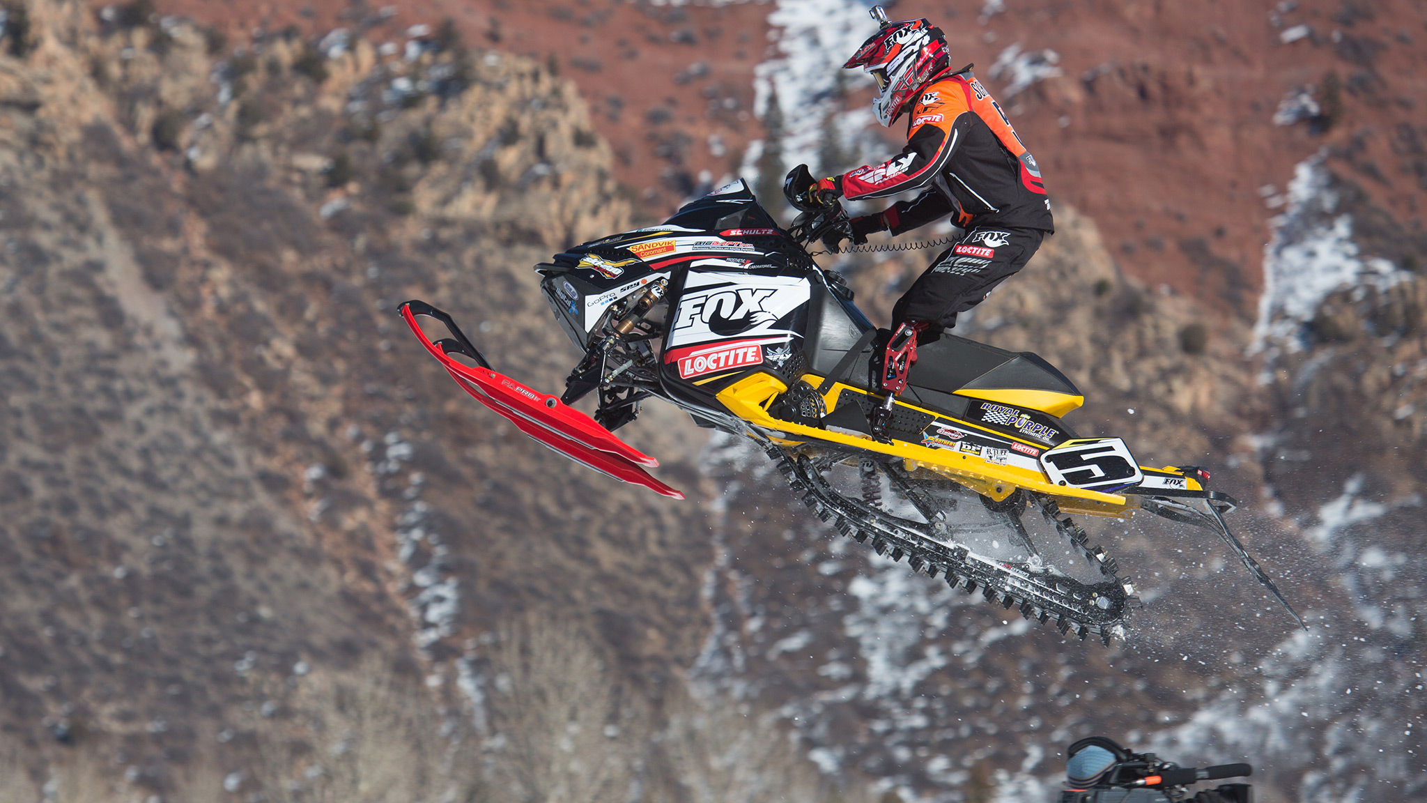 Mike Schultz, Adaptive SnoCross