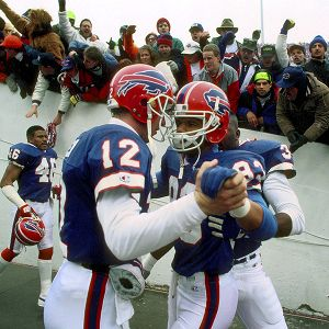 Jim Kelly and Andre Reed