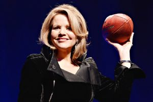 Opera singer Renee Fleming says shes game ready after practicing the national anthem more than 800 times over the past three weeks.