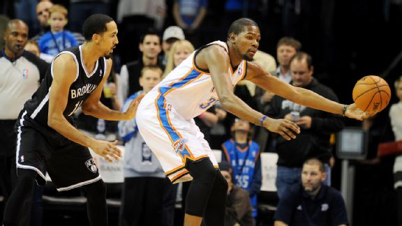 Kevin Durant, Shaun Livingston