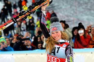 Mikaela Shiffrin is the reigning World Cup slalom champion.