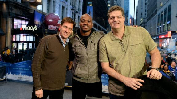 Mike Greenberg, Adrian Peterson, Mike Golic