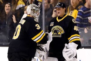 Tuukka Rask, Chad Johnson