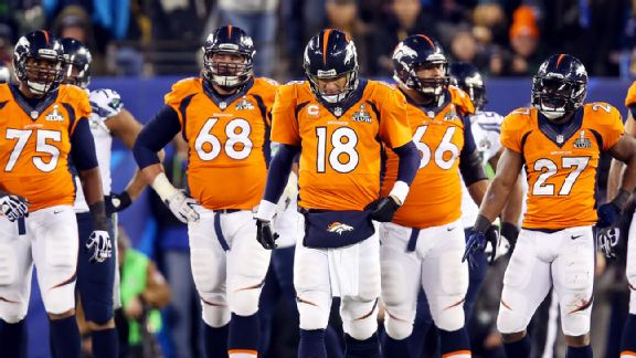 Broncos Dejection