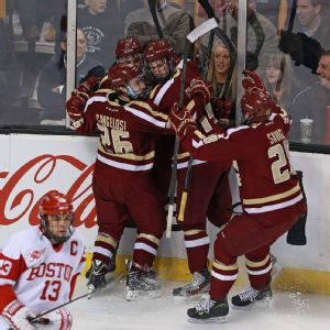 Boston College celebrates